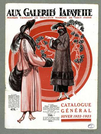 Catalogue général, hiver 1922-1923