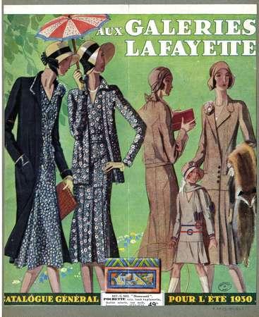 Catalogue général pour l'été 1930