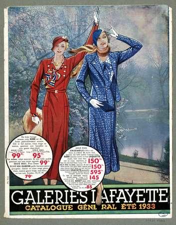 Catalogue général, été 1933