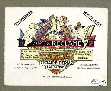 Art & réclame