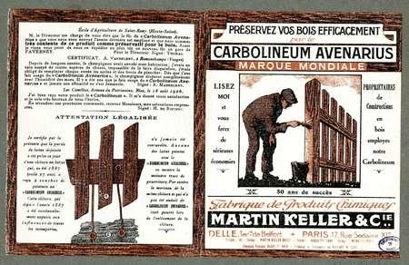 Carbolineum avenarius