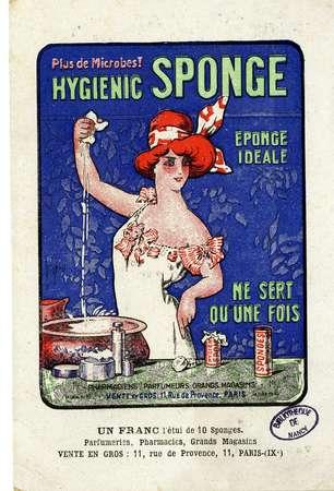 Plus de microbes ! Hygienic Sponge