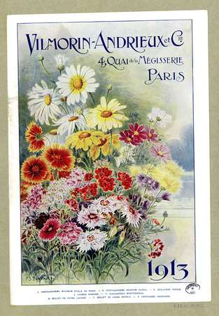 Publicité Vilmorin-Andrieux 1913