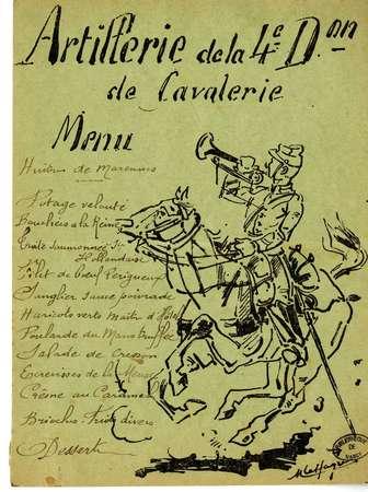 Artillerie de la 4e Don de cavalerie