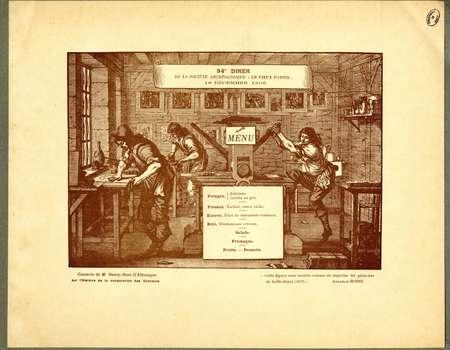 Société le vieux papier. 34e diner