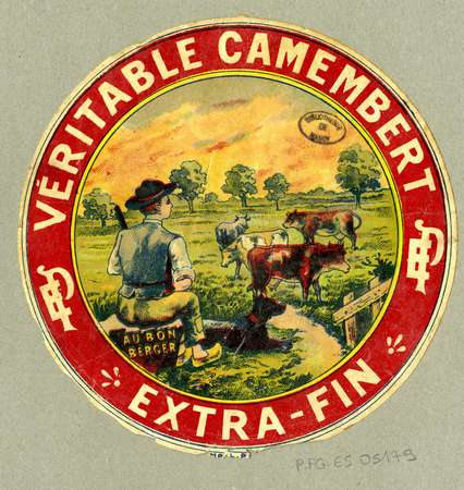 Véritable camembert extra-fin