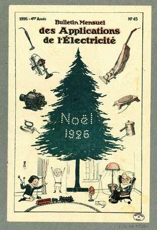 Bulletin mensuel des applications de l'électricité. No.45
