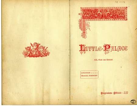 Little palace : programme officiel
