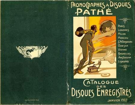 Catalogue des disques enregistrés