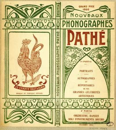 Nouveaux phonographes Pathé