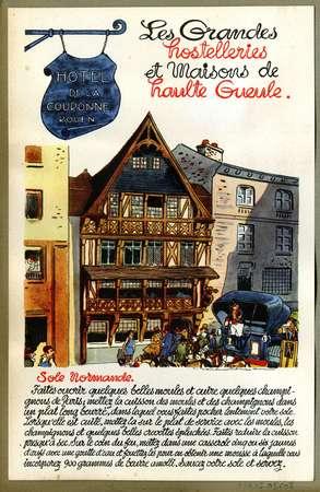 Hôtel de la couronne, Rouen