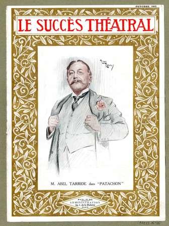 Le succès théâtral ; octobre 1912