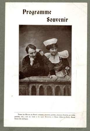 Programme souvenir