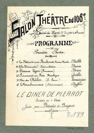 Salon théâtre du 106e