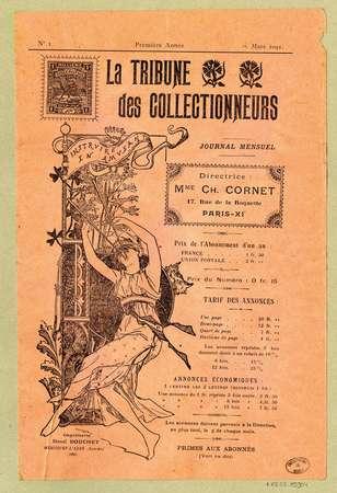 La tribune des collectionneurs ; première année, No. 1