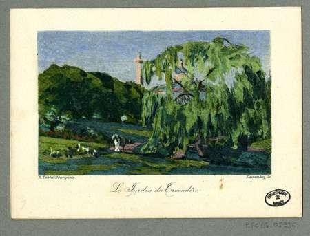 Le jardin du Trocadéro