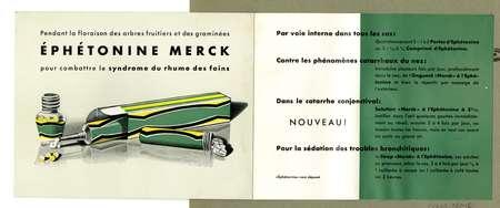 Éphétonine Merck