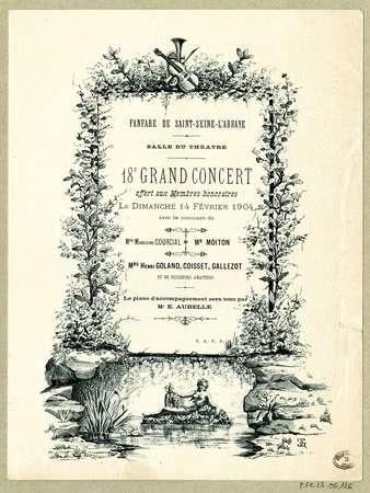 Fanfare de Saint-Seine-l'Abbaye. 18e grand concert
