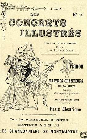 Les concerts illustrés. No. 14