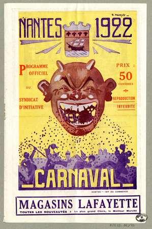 Nantes 1922 : carnaval
