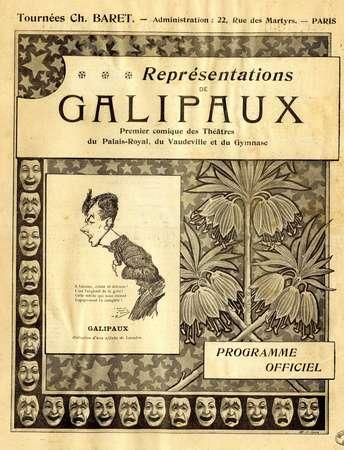 Représentations de Galipaux