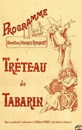 Tréteau de Tabarin