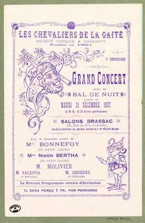 Grand concert suivi de bal de nuit
