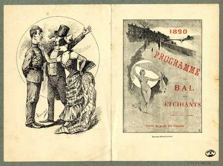 Programme du bal des étudiants