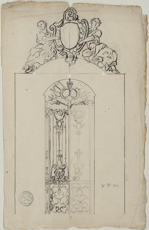 Ornements et grille pour la chapelle ronde des Cordeliers.