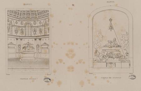 Nancy : Chapelle ducale. Nancy : tombeau de Stanislas