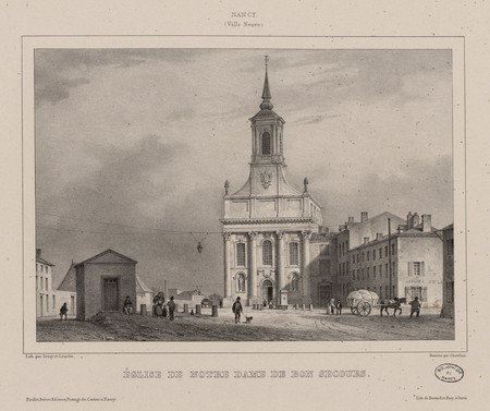 Église de Notre Dame de Bon Secours : Nancy (Ville Neuve)