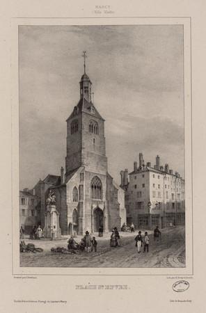 Place St [Saint] Epvre : Nancy (Ville Vieille)