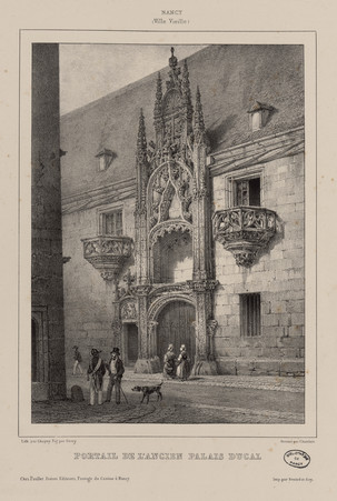 Portail de l'ancien Palais ducal : Nancy (Ville Vieille)