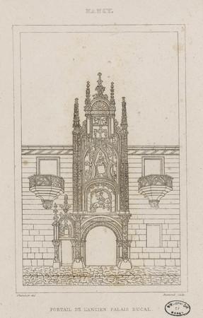 Portail de l'ancien Palais ducal : Nancy