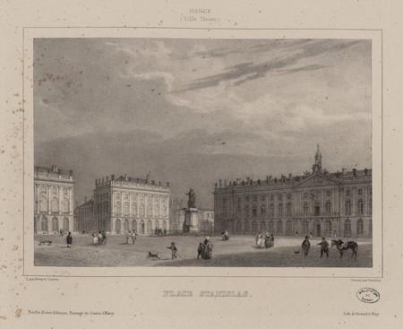 Place Stanislas : Nancy (Ville neuve)