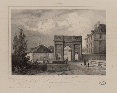 Porte Ste [Sainte] Catherine (extérieur) : Nancy