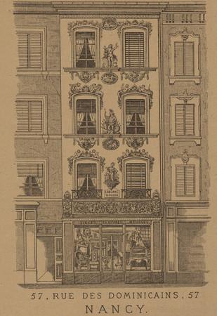 Fabrique de meubles, 57, rue des dominicains, 57, Nancy