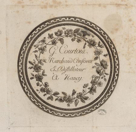 G. Courtois, Marchand Confiseur & Distillateur à Nancy