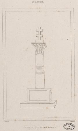 Croix du duc de Bourgogne, Nancy