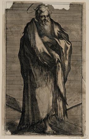 Saint André : Jésus et les apôtres