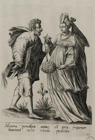 Homme et femme en costume