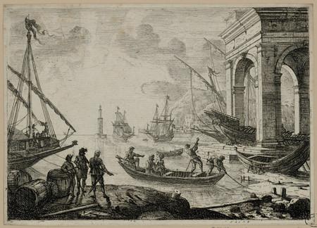 Le port de mer au fanal