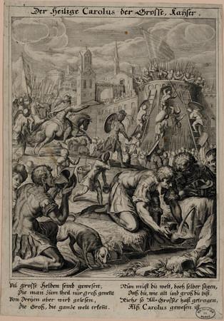 Der heilige Carolus der Grosse känser