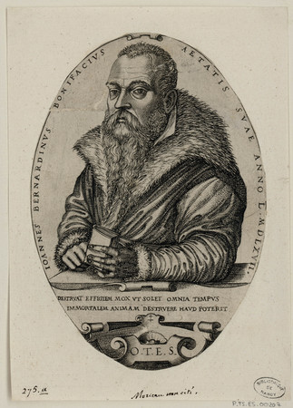 Jean Bernard Bonifacius [à 50 ans]