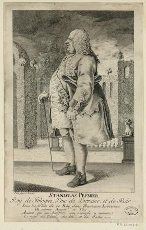 Stanislas premier roy de Pologne, Duc de Lorraine et de Bar