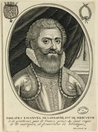 Philippe Emmanuel de Lorraine Duc de Mercoeur
