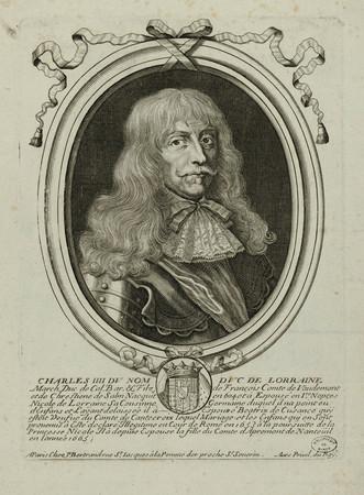 Charles IIII du nom Duc de Lorraine