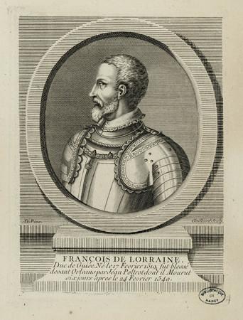 François de Lorraine. Duc de Guise