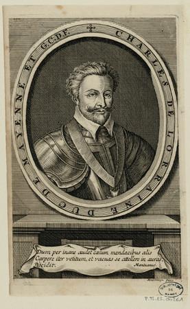Charles de Lorraine duc de Mayenne et G. C. D. F.