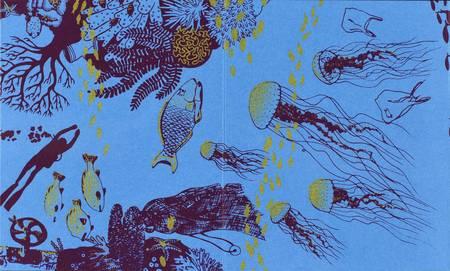 Exploration sous-marine avec les poissons